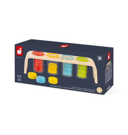 Janod sorting colors game
