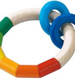 Haba kringel ring clutching toy