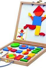 Djeco wooden magnetics geoform