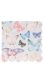 Meri Meri butterfly napkins- large