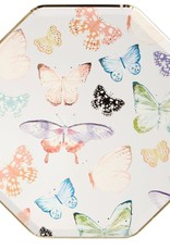 Meri Meri butterfly dinner plates