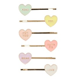 Meri Meri conversation hearts hairclips
