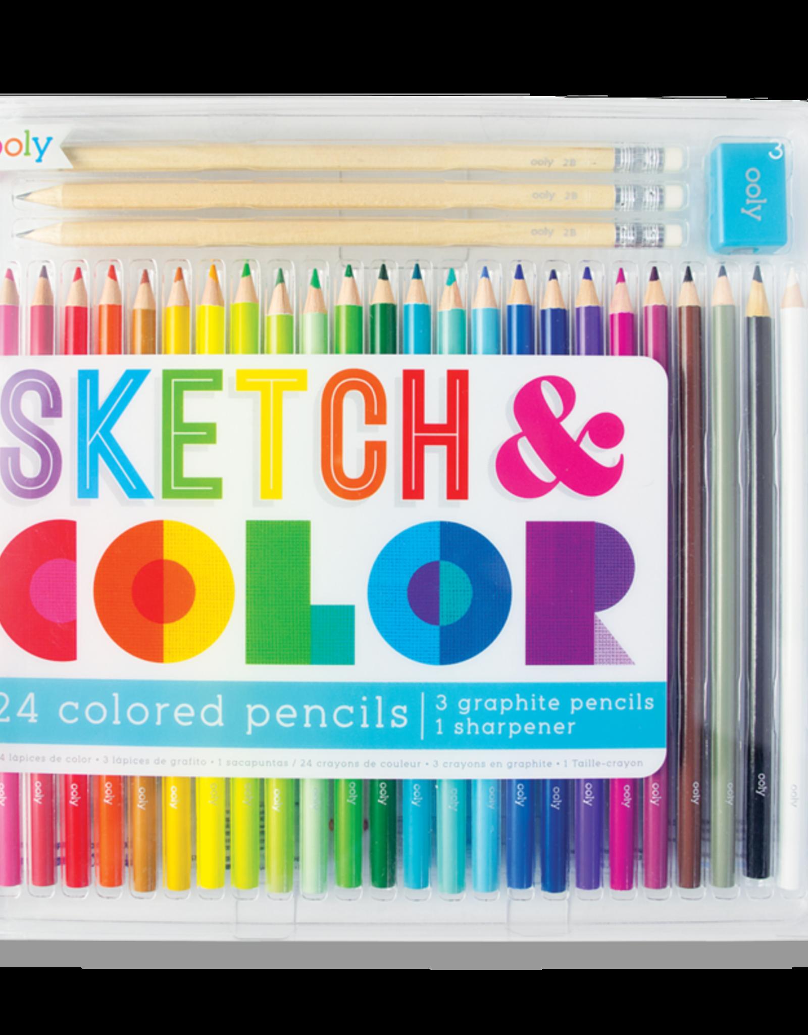 OOLY sketch & color- 28 piece set