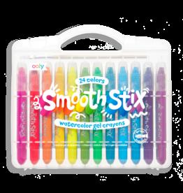 OOLY smooth stix watercolor gel crayons- set of 24