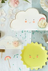 Meri Meri happy cloud plates