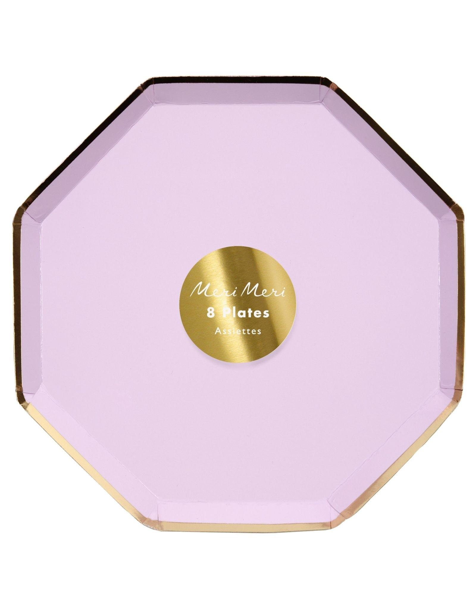 Meri Meri lilac side plates