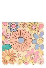 Meri Meri psychedelic 60s large napkins