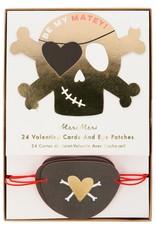 Meri Meri pirate valentine love notes