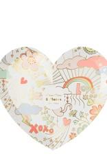 Meri Meri valentine doodle small plates