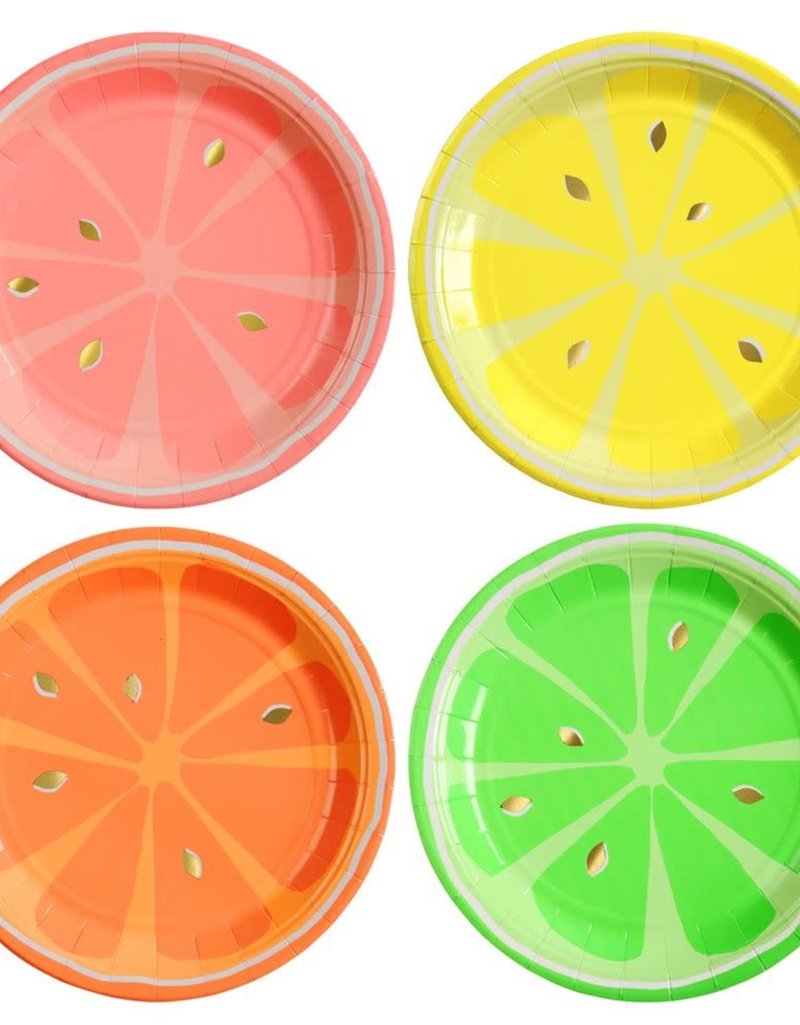 Meri Meri neon citrus small plates