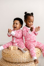 Little Sleepies pink kisses pajamas