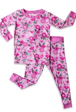 Little Sleepies sweetheart floral pajamas