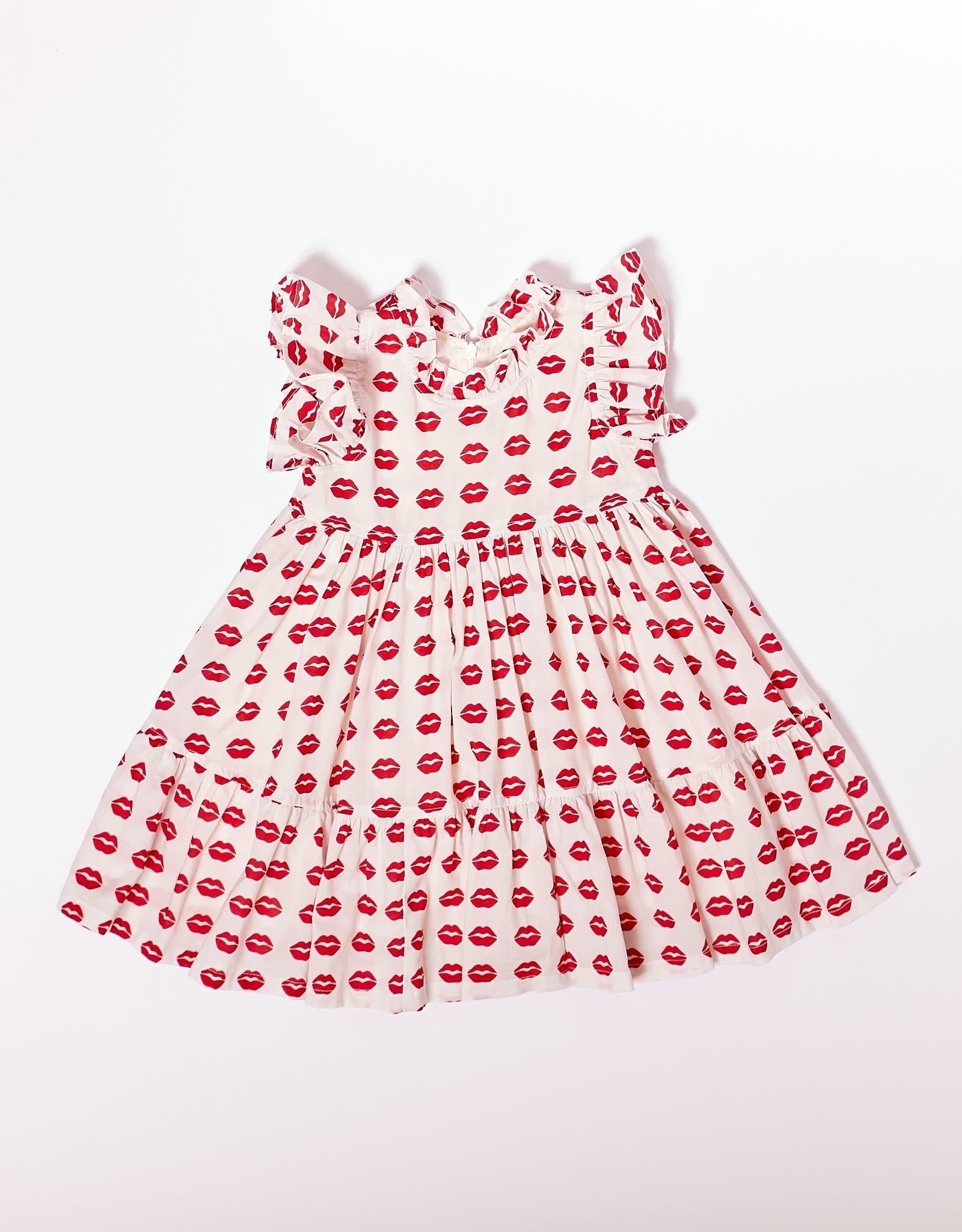 Pink Chicken jennifer dress- kisses