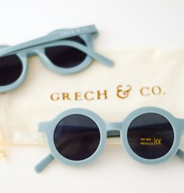 Grech & Co sustainable sunglasses- light blue