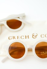 Grech & Co sustainable sunglasses- buff