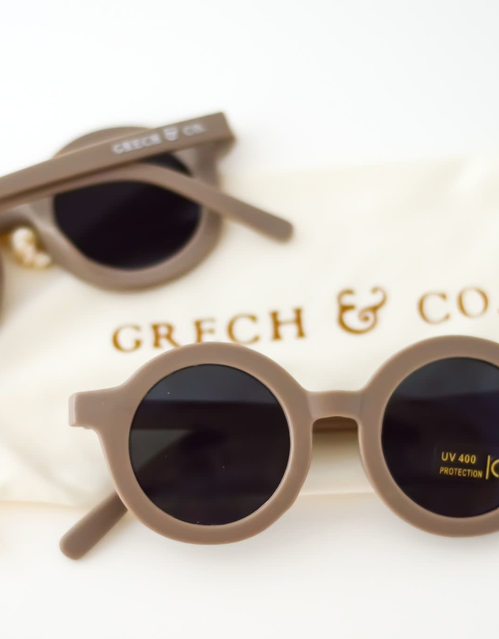 Grech & Co sustainable sunglasses- stone