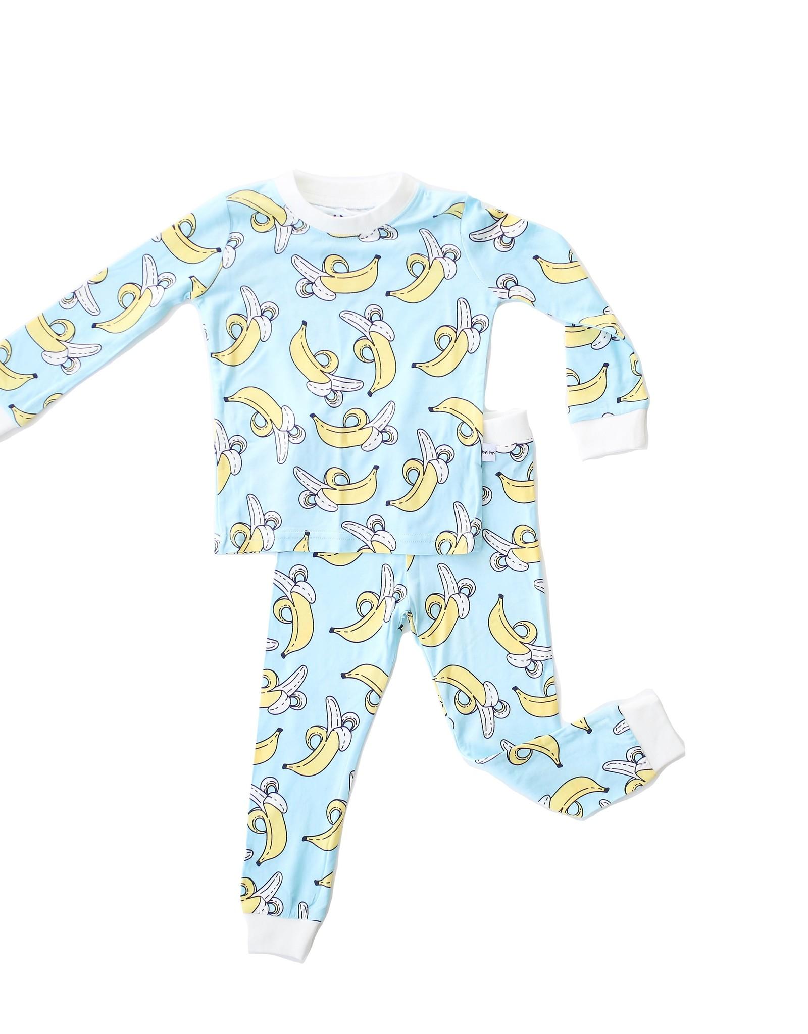 Little Sleepies bananas pajamas