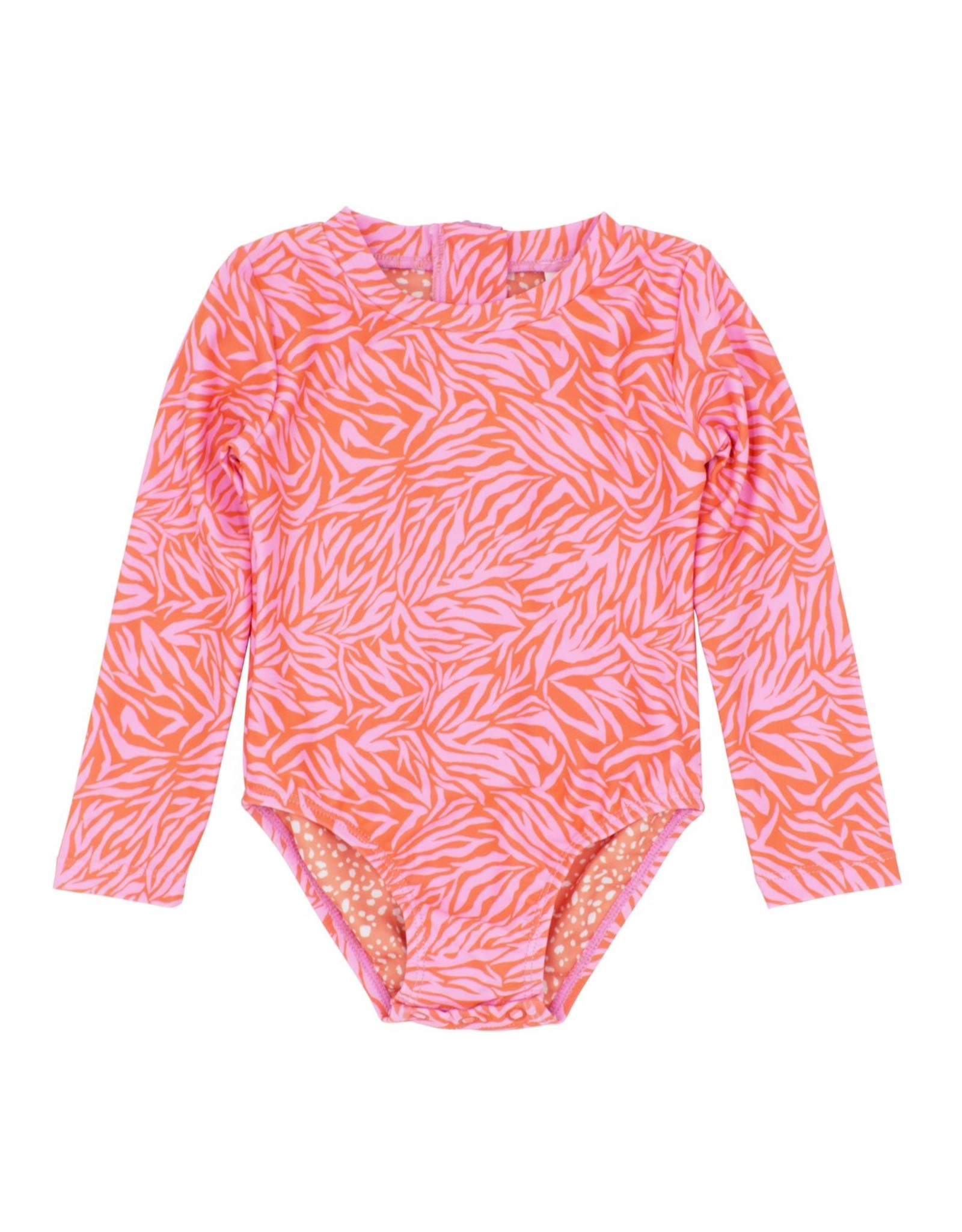 Feather 4 Arrow baby surf suit- coral crush