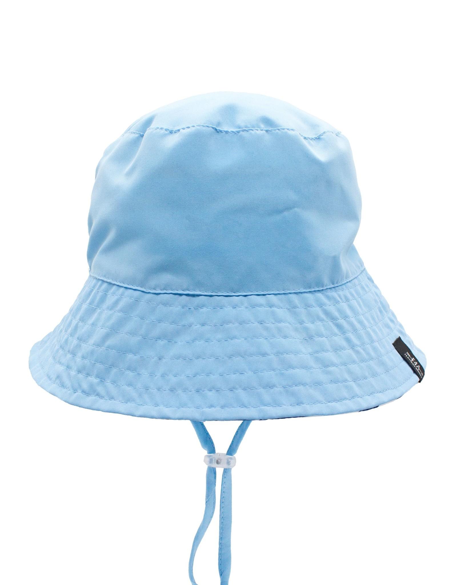 Feather 4 Arrow reversible bucket hat- blue