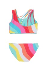 Feather 4 Arrow reversible bikini- tropical
