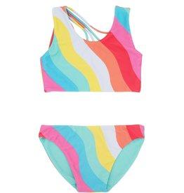 Feather 4 Arrow reversible bikini- tropical