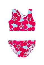 Feather 4 Arrow reversible bikini- island paradise