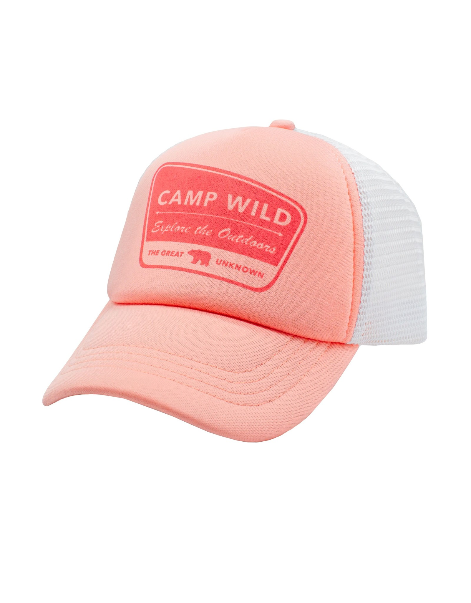 Feather 4 Arrow camp wild hat- coral