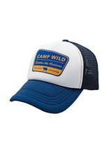 Feather 4 Arrow camp wild hat- navy