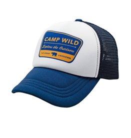 Feather 4 Arrow camp wild hat- navy
