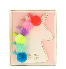 Meri Meri pompom unicorn hairclips