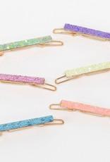 Meri Meri glitter rainbow hairclips