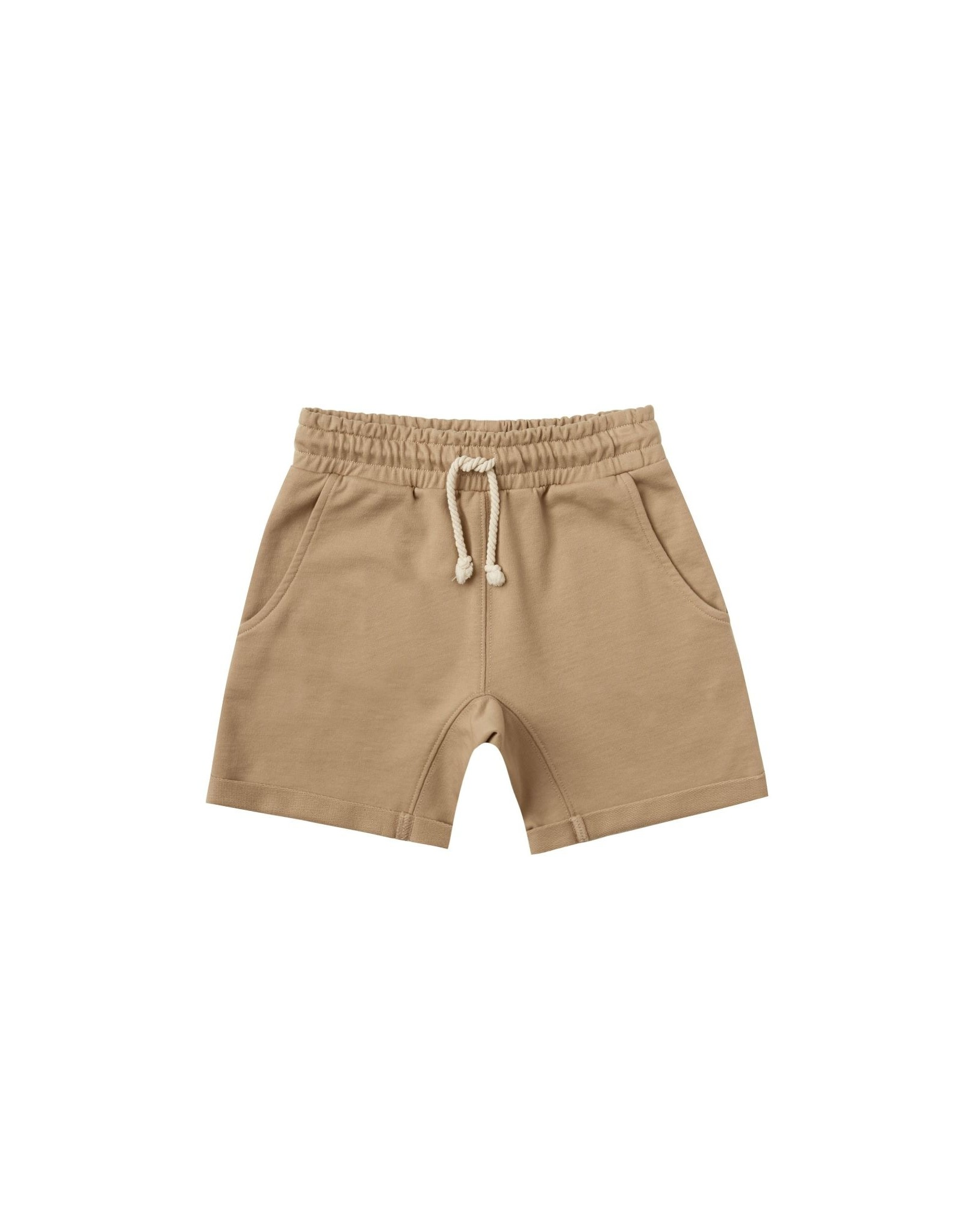 Rylee and Cru terry sweat short- almond