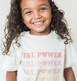 The Funnel Cake Tree rainbow girl power tee