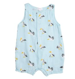 Angel Dear pelicans shortie romper