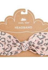 Angel Dear pink leopard headband