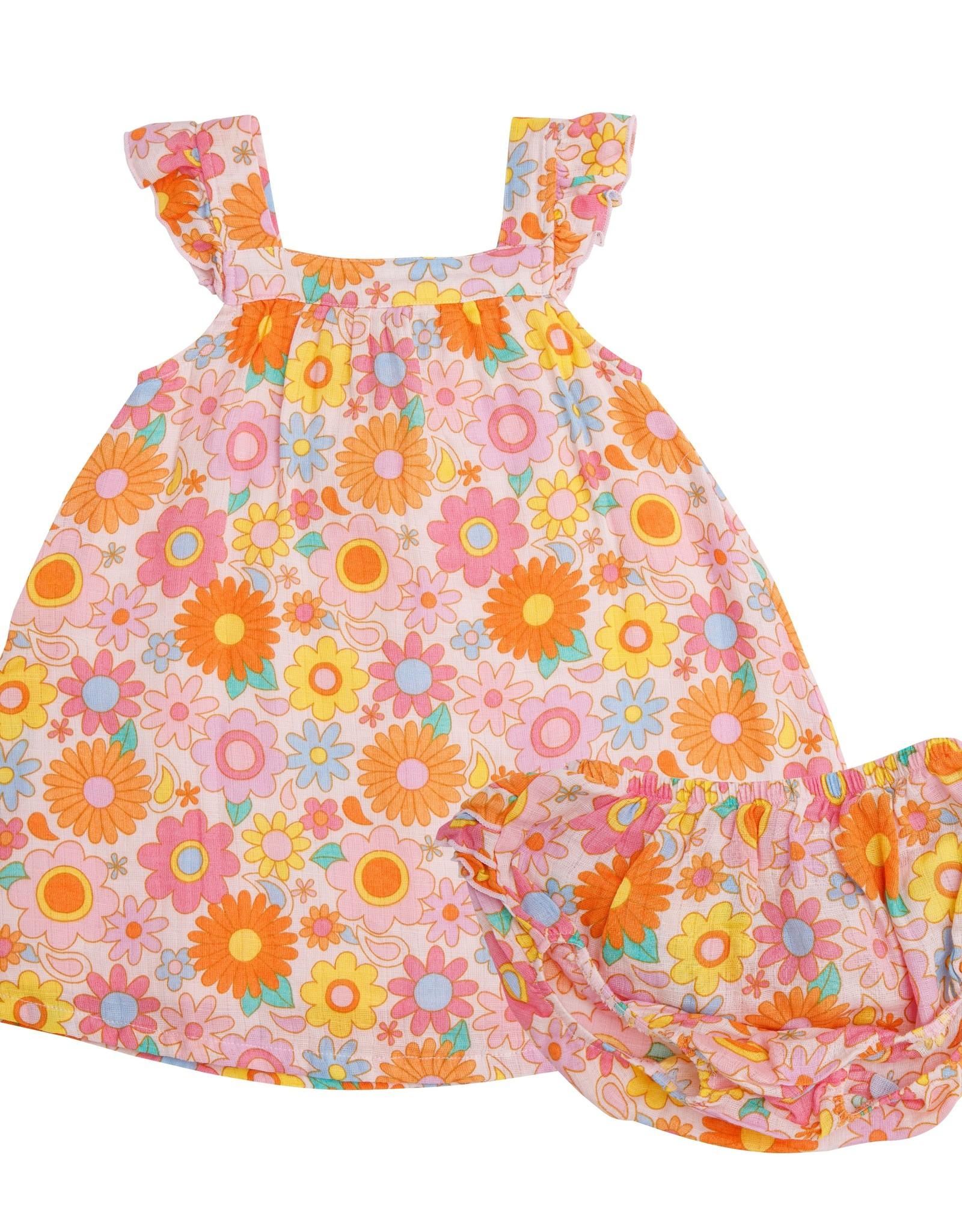 Angel Dear retro daisy sundress
