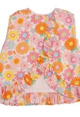 Angel Dear retro daisy ruffle top set
