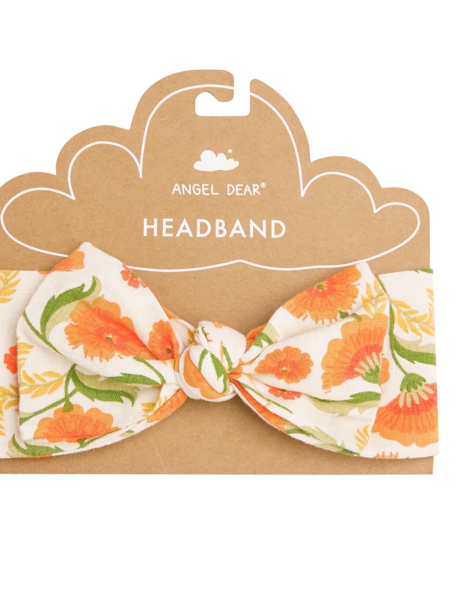 Angel Dear marigold swirl headband