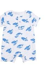 Angel Dear blue whale henley shortall