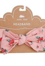 Angel Dear mini rose headband