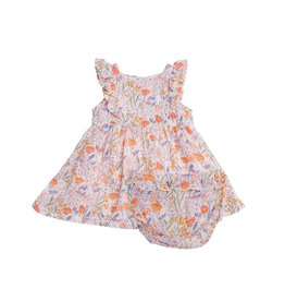 Angel Dear springtime floral dress