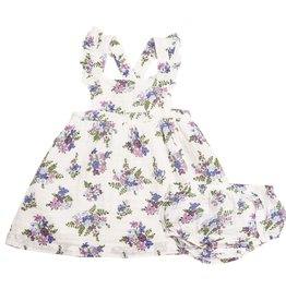Angel Dear lily pinafore top set