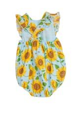 Angel Dear sunflowers sunsuit