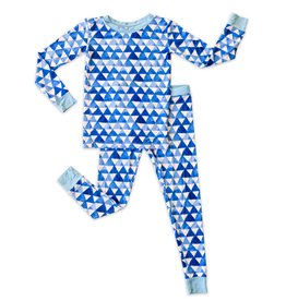 Little Sleepies horizon triangle pajamas