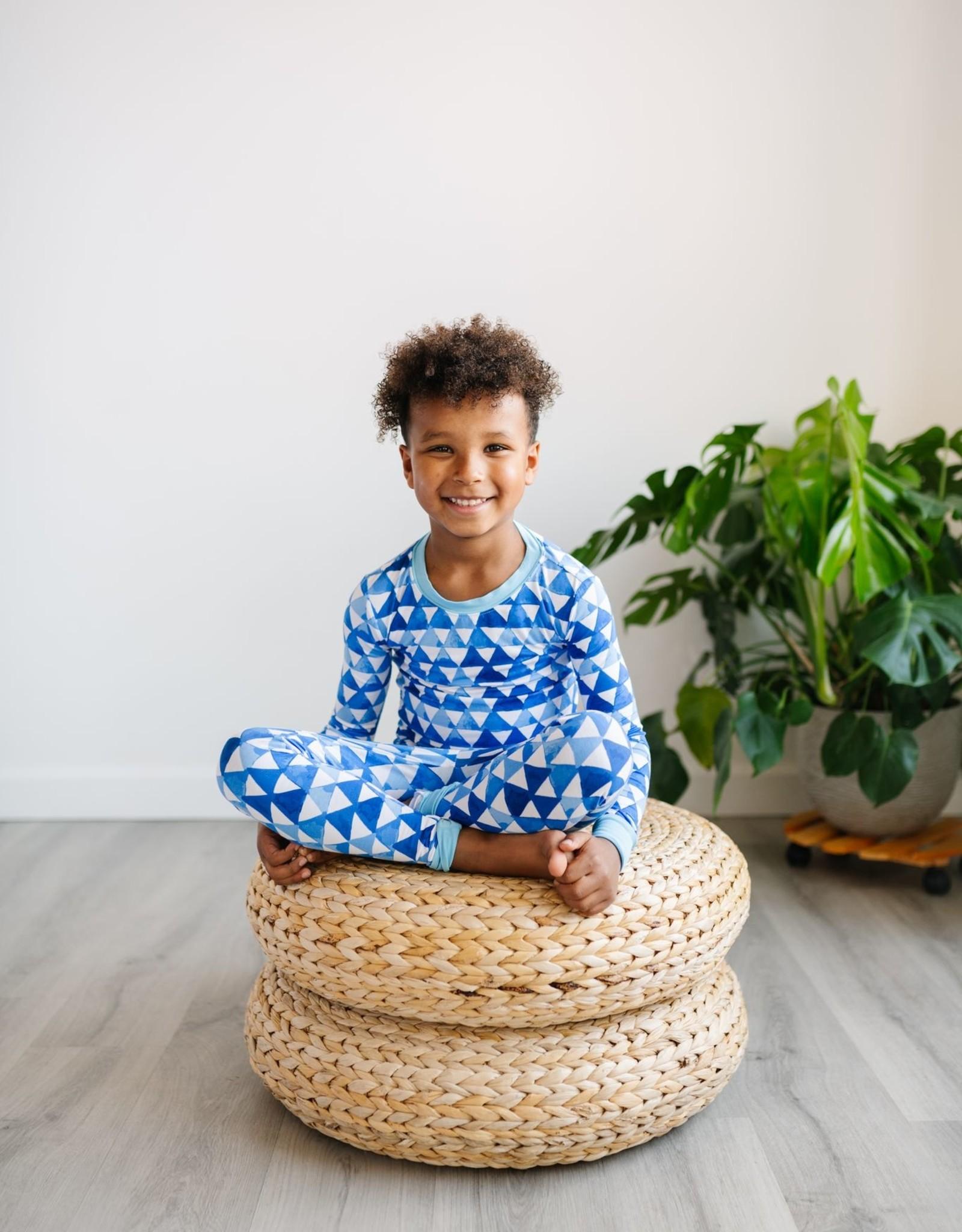 Little Sleepies horizon triangle pajamas