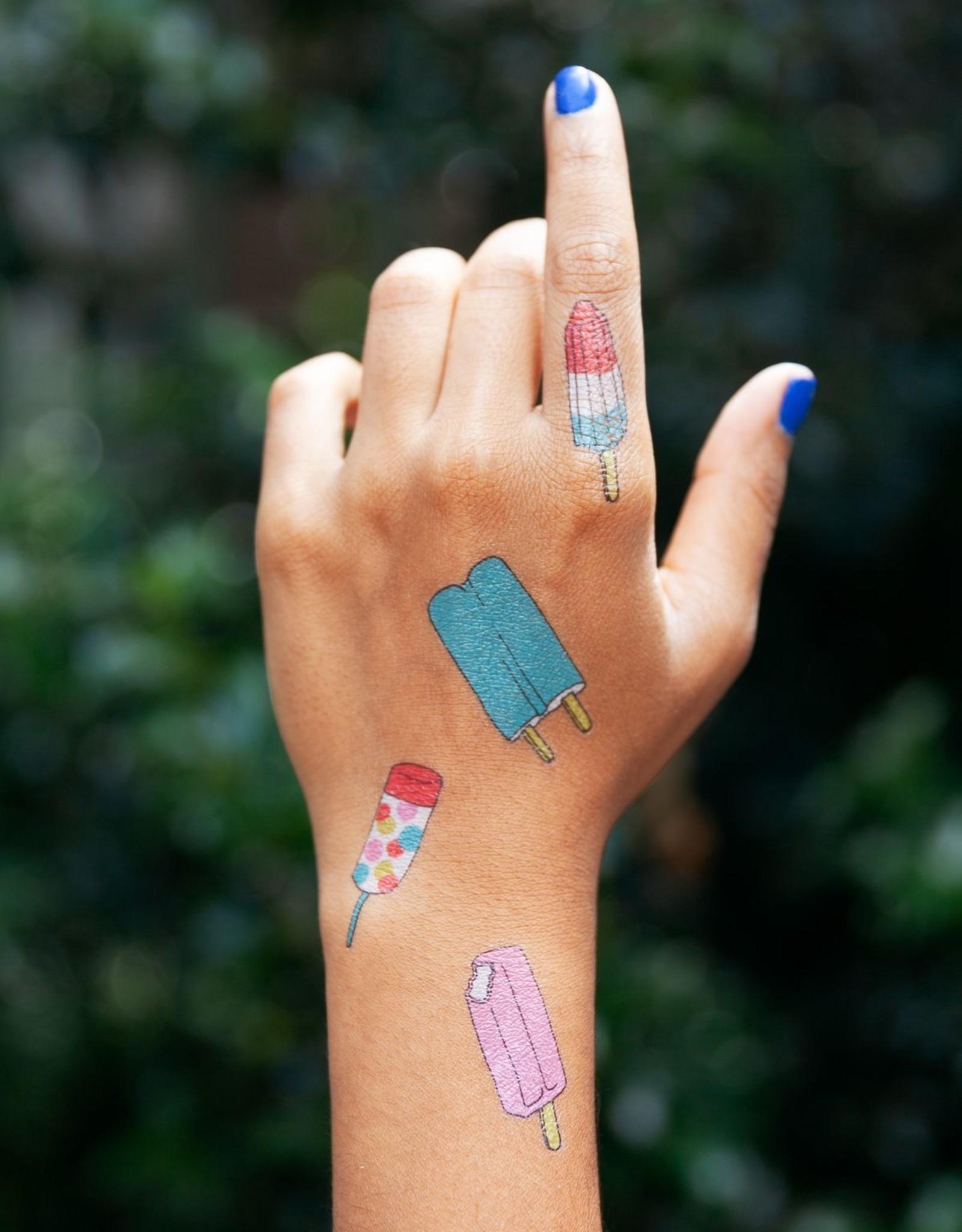 Tattly tattoo pair- popsicles
