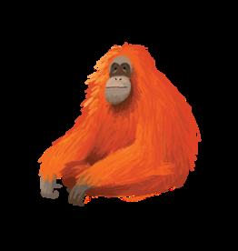 Tattly tattoo pair- orangutan