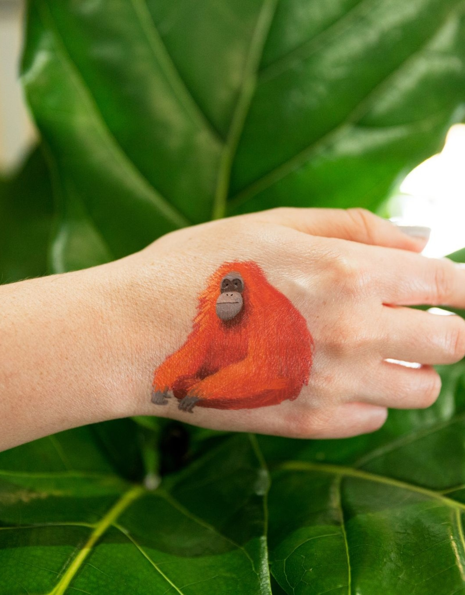 Tattly tattoo pair- orangutan