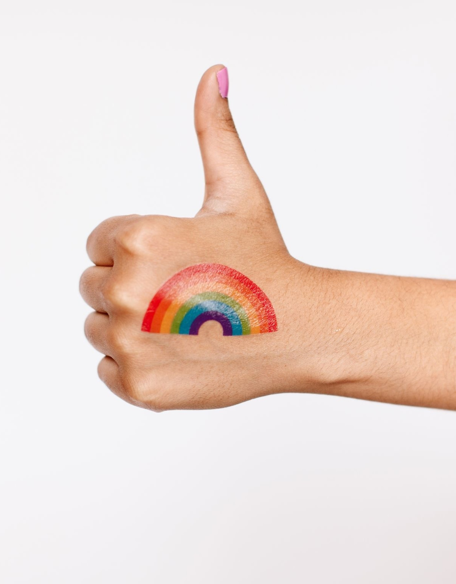 Tattly tattoo pair- rainbow
