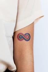 Tattly tattoo pair- forever rainbow